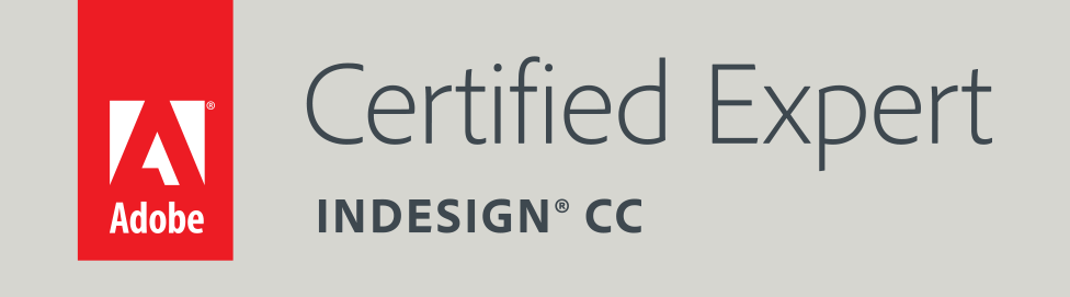 Adobe Certified Expert, InDesign CC